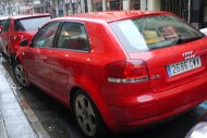 czerwone Audi