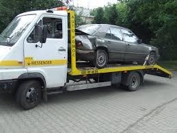 laweta samochodowa